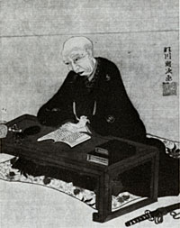 馬琴の肖像