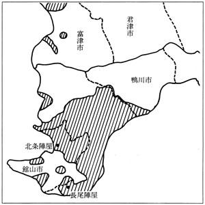 長尾藩領域