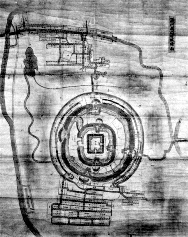 田中城絵図