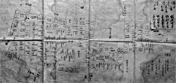 北条陣屋図