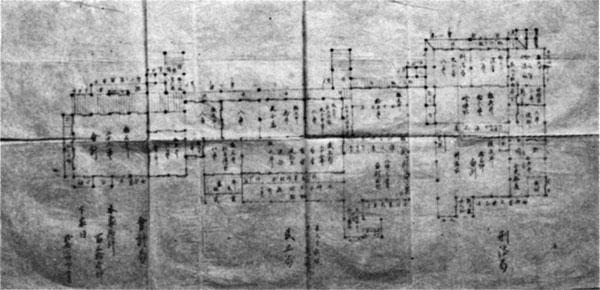 北条陣屋地方役所図