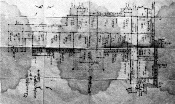 北条陣屋藩庁図