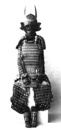 藩主から拝領の甲冑