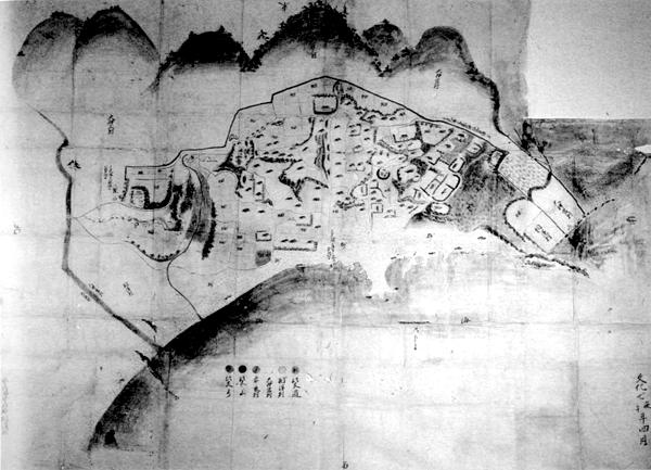 相浜村絵図 文化7年(1810)