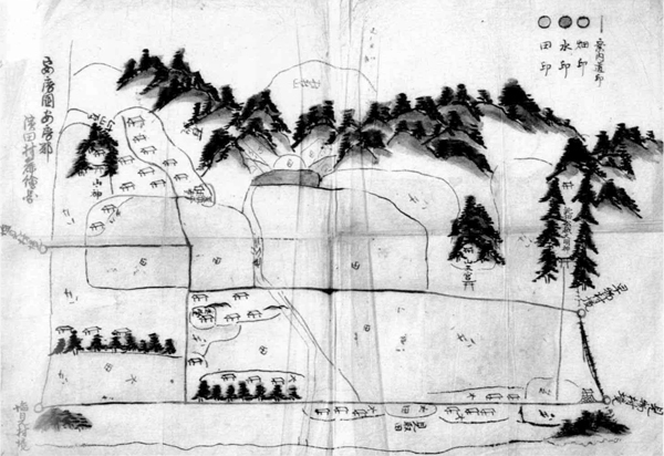 浜田村絵図