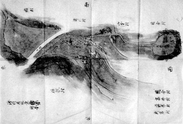 瀧川用水絵図