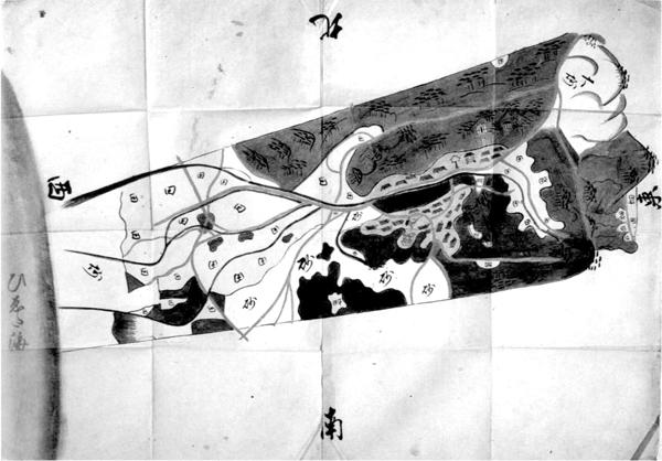 佐野村絵図