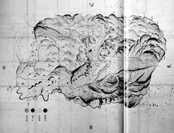 畑村絵図 天明2年(1782)