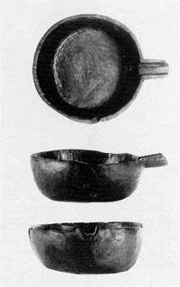木製片口鉢(鋸南町下ノ坊遺跡)