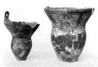 縄文土器深鉢(館山市鉈切洞穴) 縄文時代