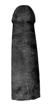 石棒(富浦町深名瀬畠遺跡) 縄文時代