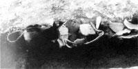 土器配列遺構(鋸南町下ノ坊遺跡) 弥生時代