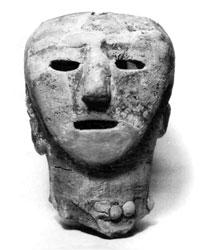 人物埴輪(丸山町永野台古墳) 古墳時代