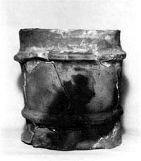 円筒埴輪(丸山町永野台古墳) 古墳時代