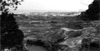 白浜町小滝涼源寺遺跡全景(昭和62年調査)