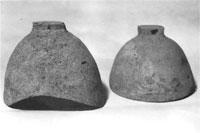 土製鐸(館山市沼つとるば遺跡) 古墳時代