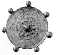 七鈴鏡(鴨川市東上牧遺跡) 古墳時代