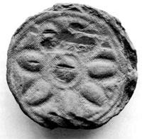 軒丸瓦(館山市安房国分寺跡) 奈良時代