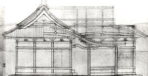 9.社殿建地割図