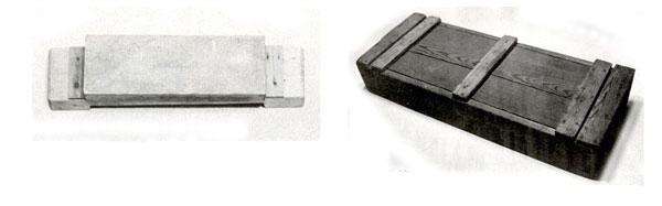 左:42.砥石(といし) 右:43.道具箱