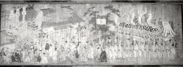 莫越山神社正遷宮上棟祭式図絵馬
