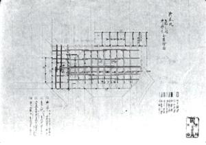 84.江戸城本丸虎之間小屋絵図