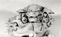 103.光厳寺旧山門の獅子鼻