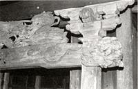深名松尾神社向拝彫刻