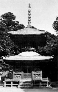 石堂寺多宝塔