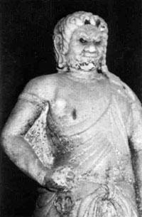 重要文化財 石造不動明王立像 像高154cm 群馬県不動院蔵