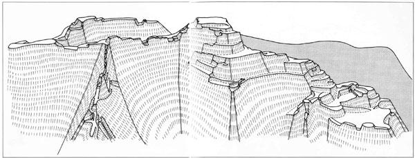 宮本城鳥瞰図
