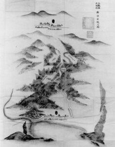 2.上総国夷隅郡興津古城之図