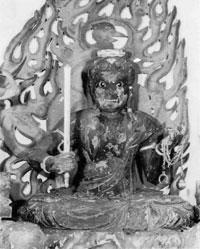 9.木造不動明王坐像(天文8年)