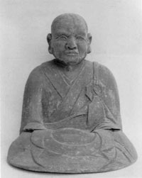 10.木造賓頭盧尊者坐像(天正15年)