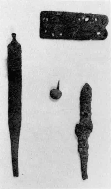 笄・小札・飾鋲・鉄鏃