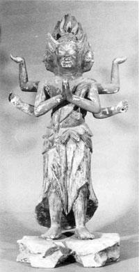 34.木造阿修羅王立像(天文19年)