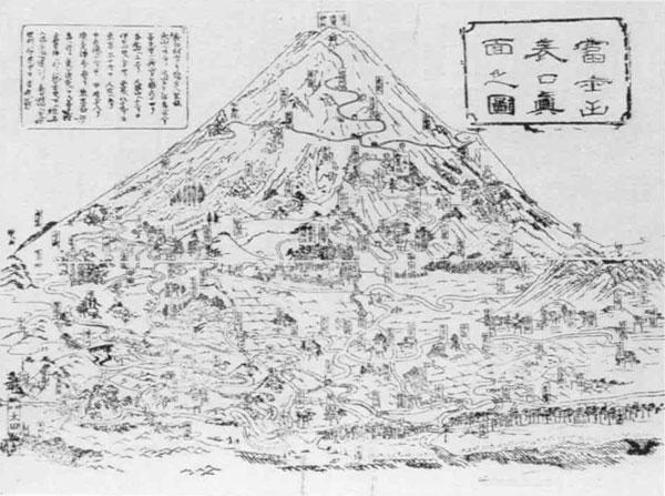 10 富士山表口真面之図