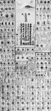 富士講紋曼荼羅