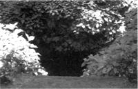 人穴(ひとあな)の洞穴入口