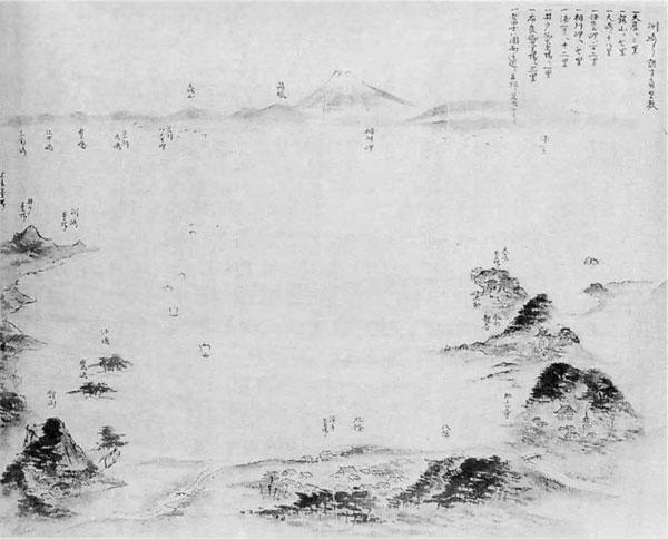 16.鏡ケ浦図(江戸末期)