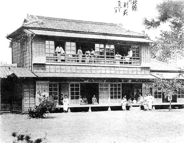 43.堀田正倫伯爵北条海岸別荘(大正8年)