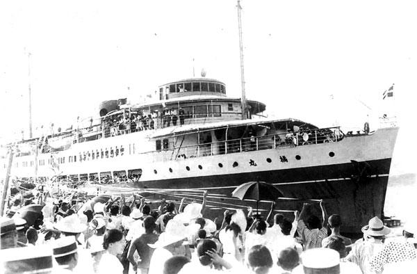 82.橘丸(昭和10年新造船)