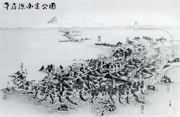 119.南房総国定公園鳥瞰図
