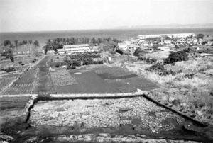 加賀名で発掘された縄文時代の岩石海岸