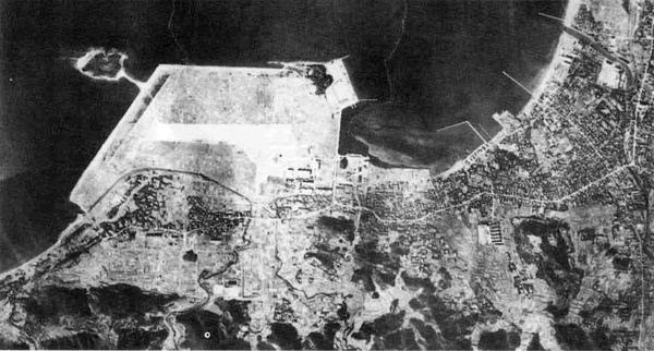 42.昭和31年撮影の航空写真