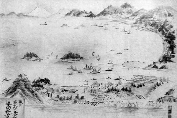 45.鏡ヶ浦図絵馬 大正4年(1915)