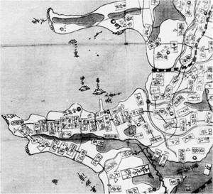 47.房州図(部分) 天保2年(1831)