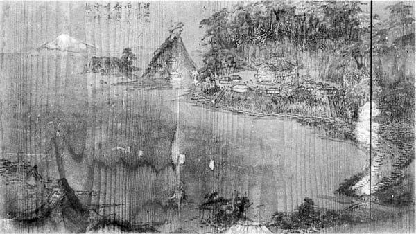 66.鏡ヶ浦図絵馬 明治9年(1876年) 渡辺雲洋作