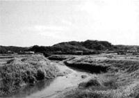 稲村城跡と滝川