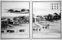 114.安房郡北条村陣営図(『近海見分之図』)